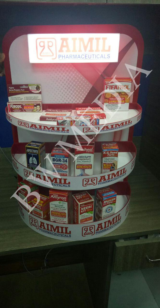 Aimil Product Display Stand